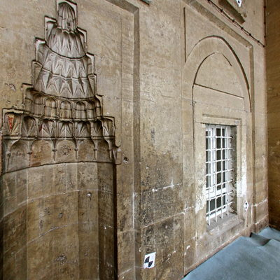 Yeni Minare Camii - Dış Mihrab