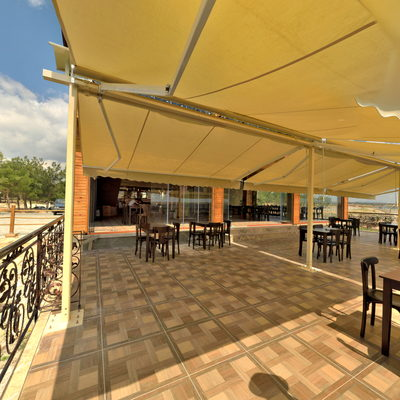 Ulubey Kanyonları - Cam Teras - Kafe Balkon