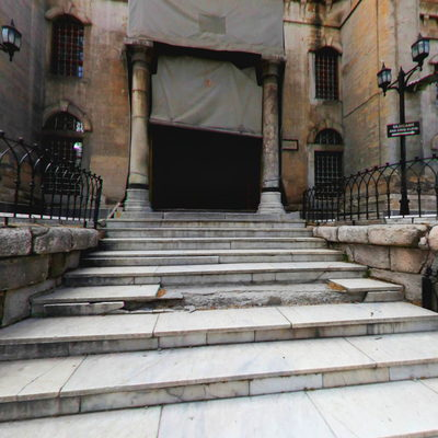 Kütahya Ulu Cami  - Sol Kapı