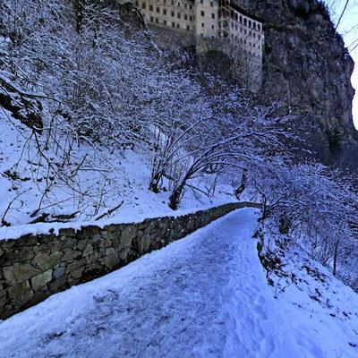 Sümela Manastırı - Kış 1