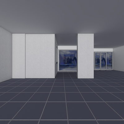 3D Dükkan Çizimi