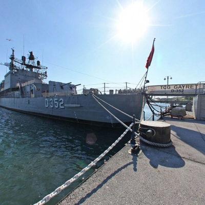 TCG Gayret Savaş Gemisi - Dış 5