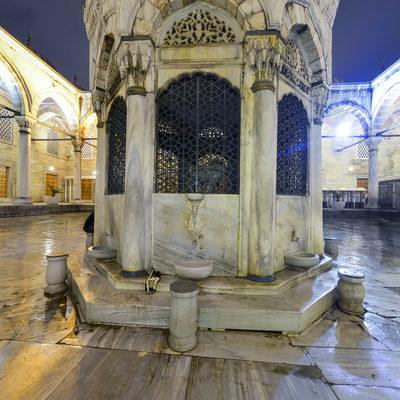 Yeni Camii Gece - Abdest