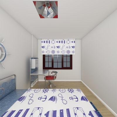 3D Yatak Odası Çizimi 2