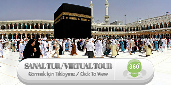 360 Degree Virtual Tour |  Mecca | Kaaba | Al-Masjid