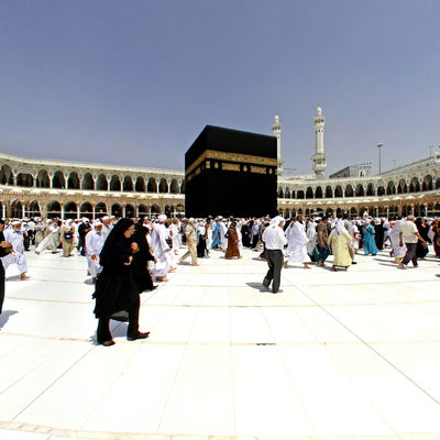 Kaaba - Al-Masjid Al-Haram - Mecca