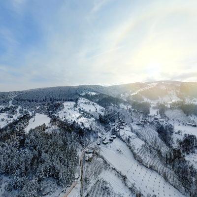 Yüksek ve Hava Panorama